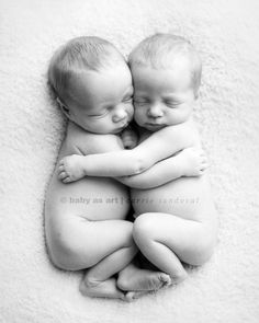 "This is beyond adorable. I used to dream of having twins, long before I had my daughter. Now it's a sweet thought, immediately followed by, ""No thanks, Im good with one at a time!"" lol"
