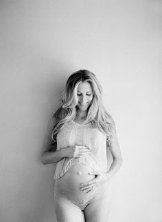 Simple Natural Light Maternity Session