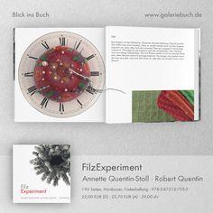 FilzExperiment Annette Quentin-Stoll und Robert Quentin  www.galeriebuch.de