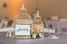 Art of the Event, Inc. added the perfect effortless touch to the beautiful centerpieces. Hire the impressive local calligraphy artist Becca Joas Calligraphy + Hand Lettering to do your event signage, table numbers + more!