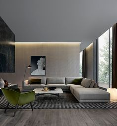 The contemporary design is all about simplicity, functionality, and elegance. Here are some stunning contemporary living room design ideas.