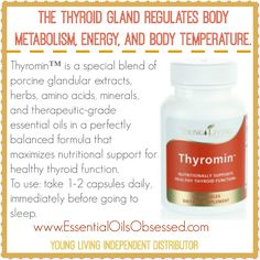 Thyromin™ is a perfectly balanced formula that maximizes nutritional support for healthy thyroid function. Place a qualifying order of 300 pv during November 2014 and you can get this for FREE along with 2 FREE oils and more. Get the details and place your order here --> http://essentialoilsobsessed.com/free-from-young-living-november-2014/