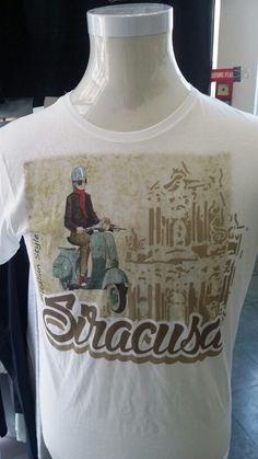 Tshirt Siracusa stampata con Texjet