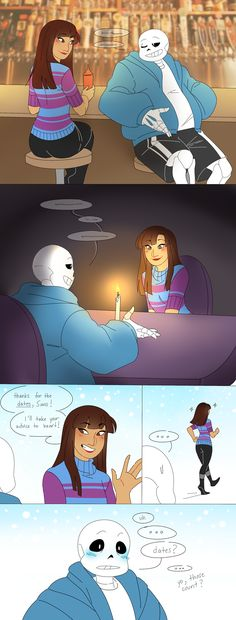 .:UT:. Unintentional Dating by kamillyanna on DeviantArt