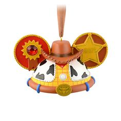 Woody Ear Hat Ornament - Hey howdy hey!, Item No. 7509002529595P, $21.95, Limited Edition of 6500