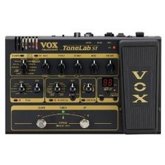 Designed for mobility, the compact Vox ToneLab ST Guitar Multi-Effects Processor Pedal is made for guitarists on the go. The rugged metal body will stand up to life on the road, and the expression pedal carries on the fine tradition of Vox wah pedals.