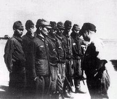Clark pilots during World War II consisted essentially of the Japanese Imperial forces. Here Clark's Japanese Air Forces commander addresses a group of pilots. Air Force Bases, Pilots, Volcano, World War Ii, Wwii, Philippines, Birth, Aircraft, Japanese