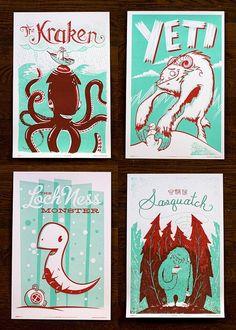 awesome monster illustration/design