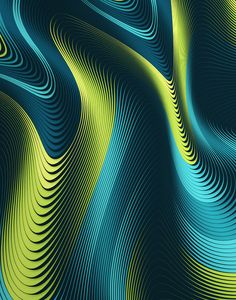 CMF we like / Graphic Design / Colors / Nwon / Waving Stripe / at leManoosh: Graphic Patterns, Cool Patterns, Textures Patterns, Print Patterns, Op Art, Graphic Art, Graphic Design, Vintage Graphic, Fractal Art