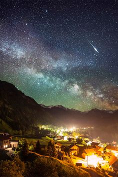 Amazing Milky Way, Alps, Bavaria, Germany >>> such a beautiful image!