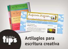 #EDUTips | Artilugios para escritura creativa - http://laeduteca.blogspot.com.es/2014/10/edutips-5-lugares-de-los-que-bajar.html