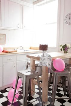 Jordan Ferney's 500 sq. ft. Apartment: The Kitchen | Oh Happy Day!