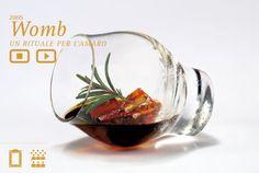 Womb, bicchiere per la degustazione dell'amaro. Giulio Ceppi per Averna