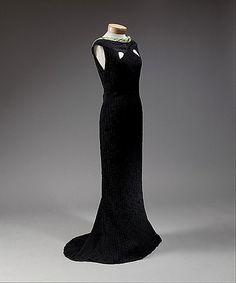 Evening dress 1934 - - Elsa Schiaparelli