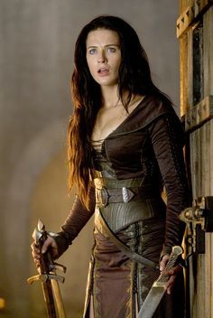 Kahlen Amnell from Legend of the Seeker. That belt. I need to find a way...