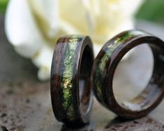 Jade ring eco gift turquoise ring sea green ring organic wood resin ring emerald jewelry boho hippie ring engagement wedding gift for mom - beautiful wedding rings Antique Engagement Rings, Engagement Ring Settings, Ring Engagement, Boho Hippie, Hippie Rings, Beautiful Wedding Rings, Jade Ring, Morganite Engagement, Wood Rings