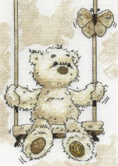lickle teddy on swing
