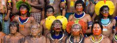 Kayapo, guardians of the Amazon rainforest, photo by Martin Schoeller