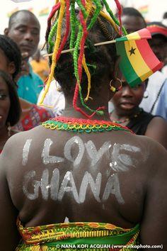 """I Love Ghana"""