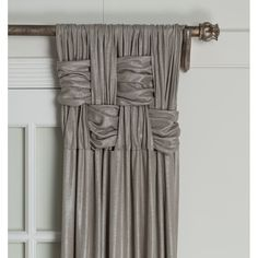 House of Hampton Scholten Solid Room Darkening 100% Cotton Pinch Pleat Curtains & Reviews | Wayfair Curtains With Blinds, Custom Drapes, Drapery Designs, Elegant Curtains, Living Room Decor Curtains, Pinch Pleat Curtains, Curtains Living Room Elegant, Pleated Curtains, Room Darkening