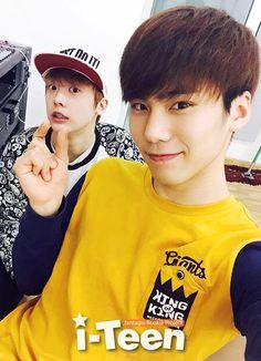 SanHa and Minhyuk