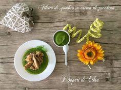 Filetto di sgombro e crema di zucchine  I Sapori di Ethra - Ricette Blogger Riunite