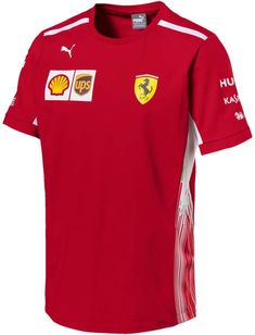 fb111e442f2d Scuderia Ferrari Formula 1 Men s Red 2018 Kimi Raikkonen Team T ...