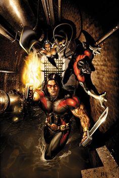 Uncanny X-Men #488 by Salvador Larroca
