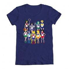 Sailor Moon shirt by We Love Fine