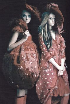 """""""So splendid and magic"""" photographed by Paolo Roversi for Vogue Italia March 2005"""