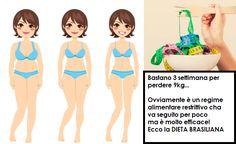 Dieta Brasiliana. Ecco come per eliminare 9 kg in 3 Settimane 3, Clean Diet, Weights