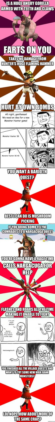 Monster Hunter Meme Comp of truth.