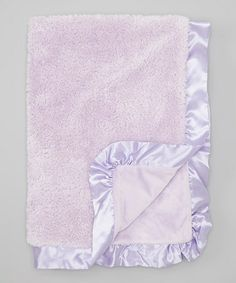 Another great find on #zulily! Lavender Cloud Stroller Blanket by Pickles #zulilyfinds
