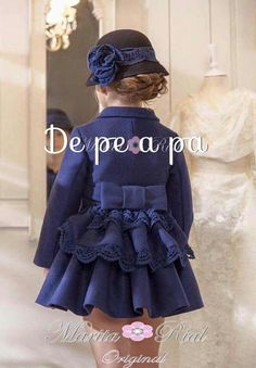 Dresses ruffled, bowes, florets, puff sleeves and hats! Toddler Dress, Toddler Outfits, Baby Dress, Toddler Girl, Girl Outfits, Baby Girl Dress Patterns, Little Girl Dresses, Girls Dresses, Little Girl Fashion
