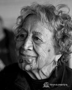 """An honour and privilege to have marked this 89 year old kuia with her Moko Kauae at the mokopapa wananga a few weeks ago. Moko ti - Moko Ta - Moko ora - Mauri Ora! """"Taaia oo Moko hei hoa matenga mou!"""" - Have your face adorned with Ta Moko to be your companion in death"""" #mokotheworld #mokorevival"""