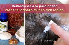 Remedio casero para hacer crecer tu cabello mucho más rápido