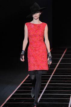 Giorgio Armani Fall 2012 Ready-to-Wear Fashion Show - Coco Rocha