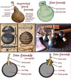 A Woodsrunner's Diary: Grenades. Survival Life Hacks, Survival Prepping, Survival Skills, Survival Gear, Emergency Preparedness, Urban Survival, Wilderness Survival, How To Make Fireworks, Homemade Weapons
