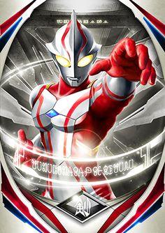 Ultraman Mebius Vintage Cartoon, Cartoon Tv, Ultraman Tiga, Fusion Card, Japanese Superheroes, Ultra Series, Cosmic Art, Tv Themes, Kamen Rider Series