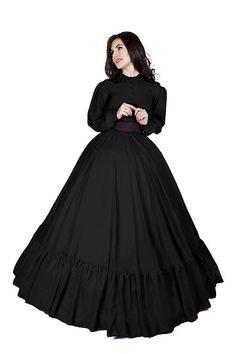 I-D-D Civil War Reenactment Victorian Garibaldi 3 Piece Dress Southern Belle Dress, Steampunk, Saloon Girls, Victorian Costume, Victorian Party, Victorian Dresses, Civil War Dress, Halloween Dress, Halloween Costumes