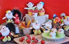 Fiesta infantil temática con los 7 enanitos de Blancanieves