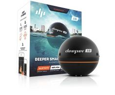 Deeper Smart Portable Fish Finder (Depth Finder) for Smartphone or Tablet, suitable for Ice Fishing, Kayak, Boat and Shore Fishing. Compatible with iOS and Android devices Kayak Fish Finder, Bluetooth, Ios, Kayak Boats, Kayak Fishing, Ice Fishing, Fishing Rods, Trout Fishing, Tecnologia