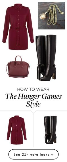 """""""Untitled #130"""" by allycat3474 on Polyvore featuring Givenchy, Cameo Rose and Burberry"""
