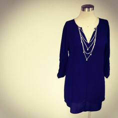 Dear Stitch Fix - would please pretty please LOVE this top AND this necklace!