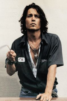 Johnny Depp ...<3 ... Do we have to go out, why don't we just stay at your place tonight....