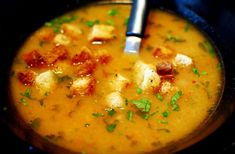 Mennyei zöldségkrémleves tele ízzel! Őszi finomság, kóstold meg és imádni fogod! :) - Ketkes.com Croatian Recipes, Hungarian Recipes, Soup Recipes, Cooking Recipes, Food 52, Soups And Stews, No Cook Meals, Chowder, Food Porn