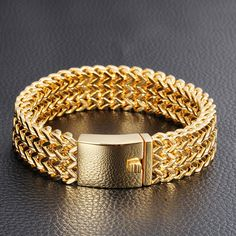 Gold Chains For Men men's gold jewelry Real Gold Bracelet, Mens Link Bracelet, Mens Gold Bracelets, Mens Gold Jewelry, Gold Bangles, Fashion Bracelets, Link Bracelets, Bangle Bracelets, Silver Jewelry