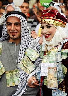 Palestinian This Is An Old Wedding Tradition My Husband Did It During Our