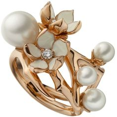 My favourite ring in the whole world, Shaun Leane Cherry Blossom - I've lusted after this since I was about 18; I think I still have the picture I tore out of Elle magazine!