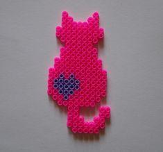 Bügelperlen-Vorlage: Katze | kiki - Die Kinderkiste